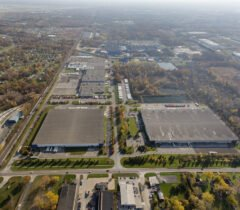 Romulus Business Center Aerial