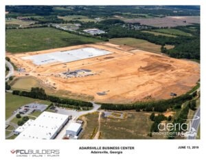 Georgia north logistics center aerial 3