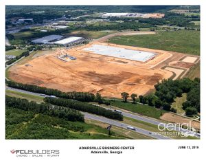 Georgia north logistics center aerial 4